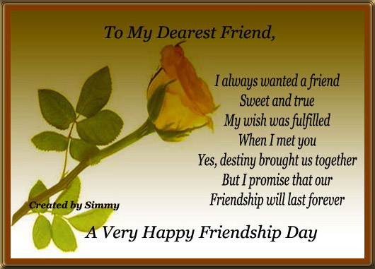 Friendship Day 2019 Free Ecard