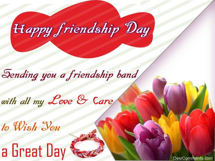 Friendship Day 2019 Greeting Card for Girlfriend