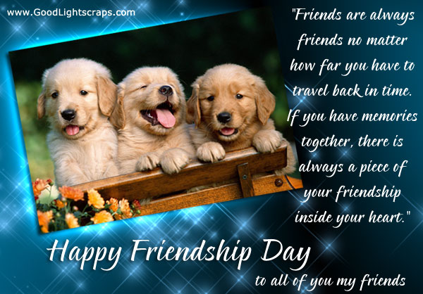 Friendship Day Greeting Card free download