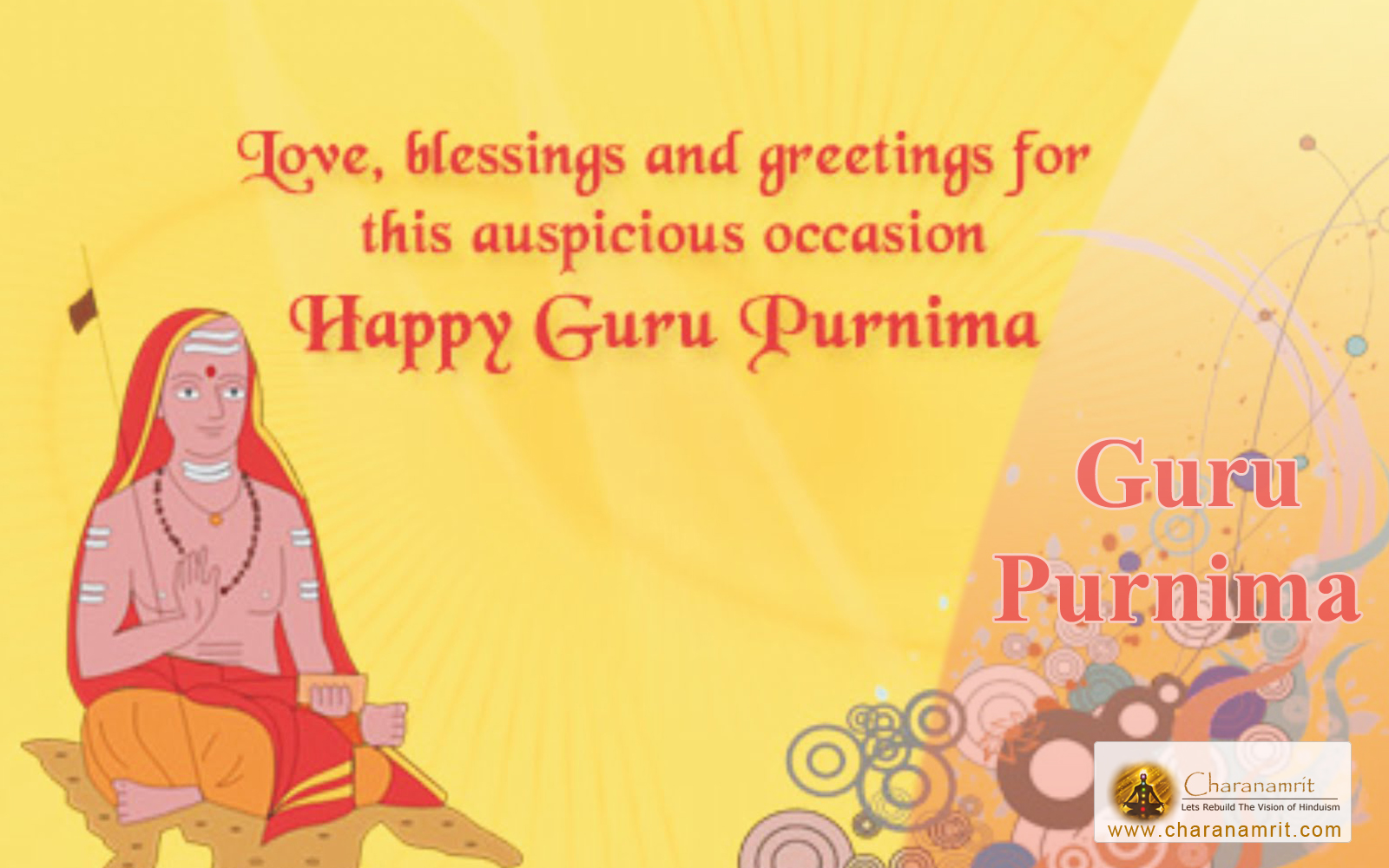 Guru Purnima 2018 Image for Whatsapp