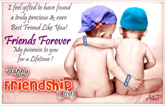 Happy Friendship Day 2019 Free Ecard
