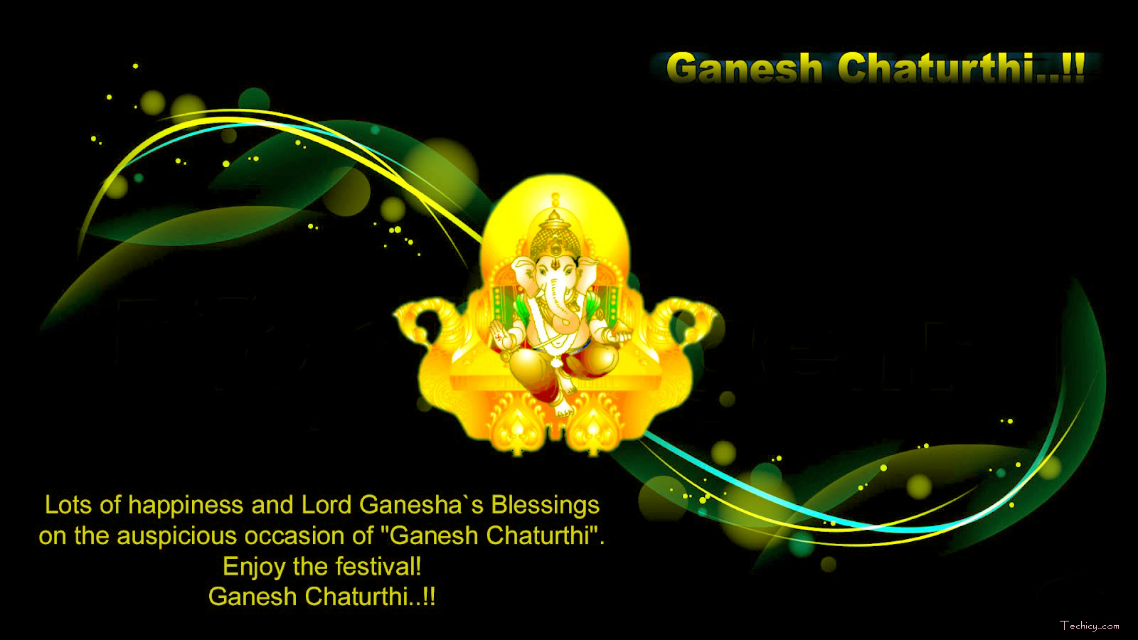 Ganesh Chaturthi 2018 Wallpaper for Desktop