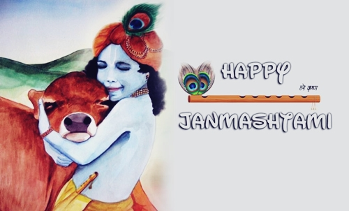 Happy Janmashtami 2019 Image for Facebook
