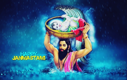 Happy Janmashtami 2018 Image free download