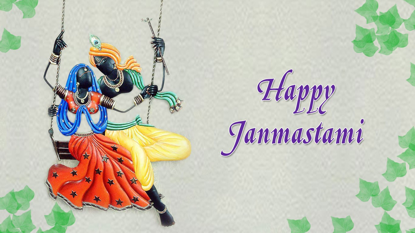 Happy Janmashtami 2019 Wallpaper for Laptop
