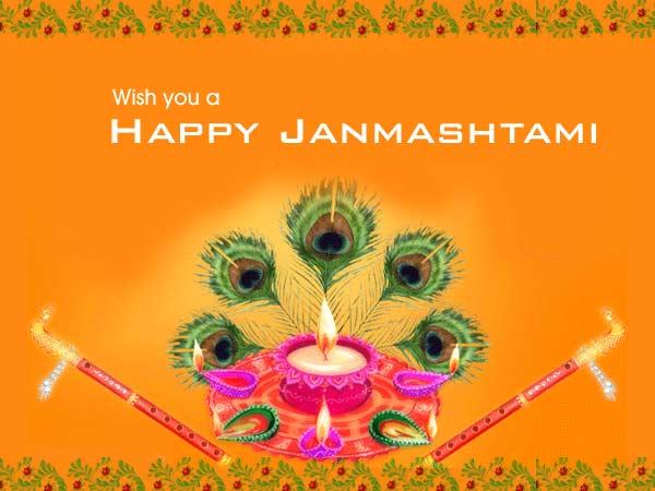 Janmashtami 2017 Greeting Card free download