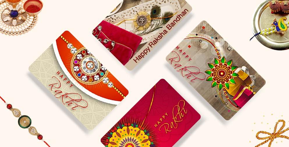 Raksha Bandhan 2017 Gift Card for Brother