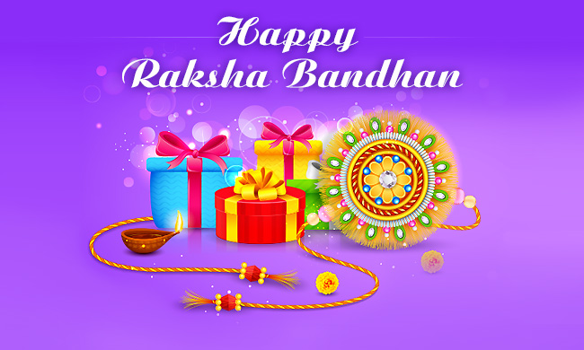 Raksha Bandhan 2017 Gift Card for Sister & Brother