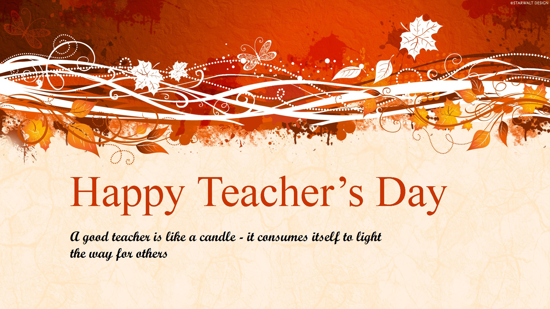 Teacher's Day 2019 HD Wallpaper