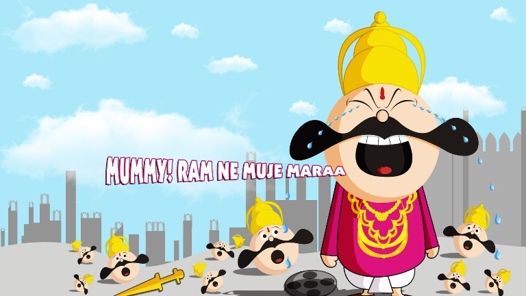 Happy Dasara Funny Image