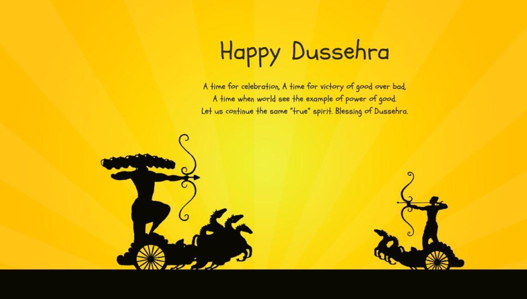 Happy Dussehra 2018 HD Image