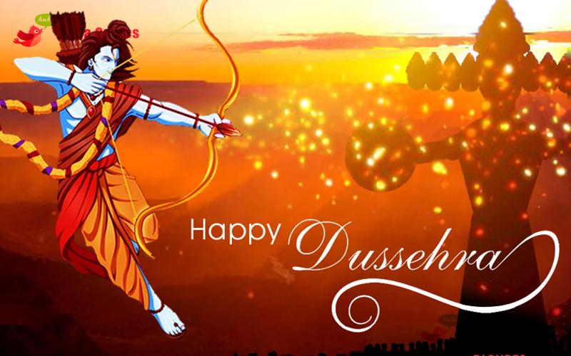 Happy Dussehra 2017 Wallpaper for desktop
