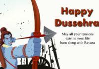 Happy Dussehra Cartoon Ravan
