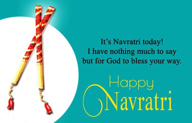 Happy Navratri Wishes in Hindi & English