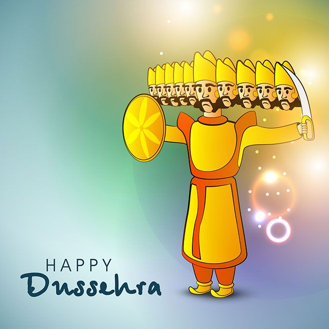 Happy Dussehra Images, GIF, Wallpapers, Photos \u0026 Pics for Whatsapp DP 2017