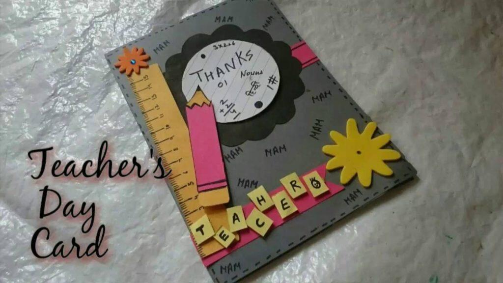 Teachers Day 2018 HD Gift Card