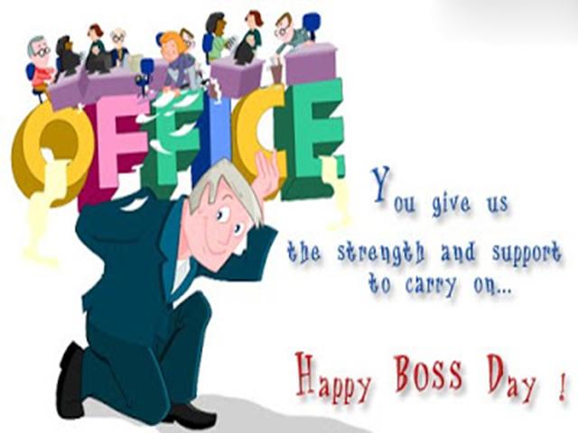 Boss Day 2018 HD Photo