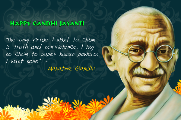 Gandhi Jayanti 2021 HD Pics