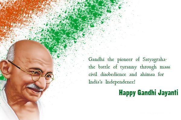 Gandhi Jayanti 2021 Image for Facebook