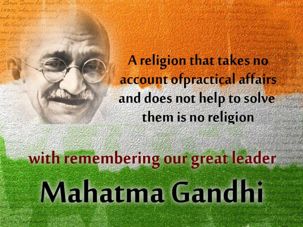 Gandhi Jayanti Image for Facebook