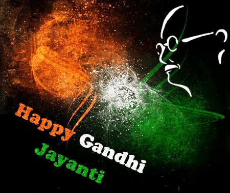 Gandhi Jayanti Whatsapp DP