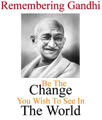 Gandhi Jayanti Whatsapp Profile