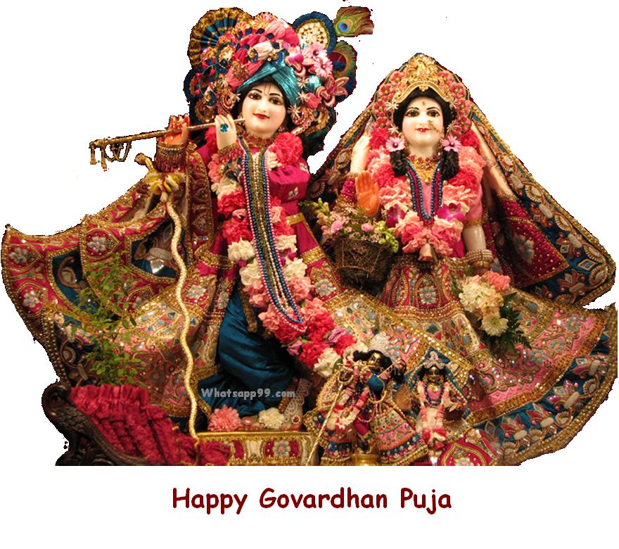 Govardhan Puja DP for Whatsapp
