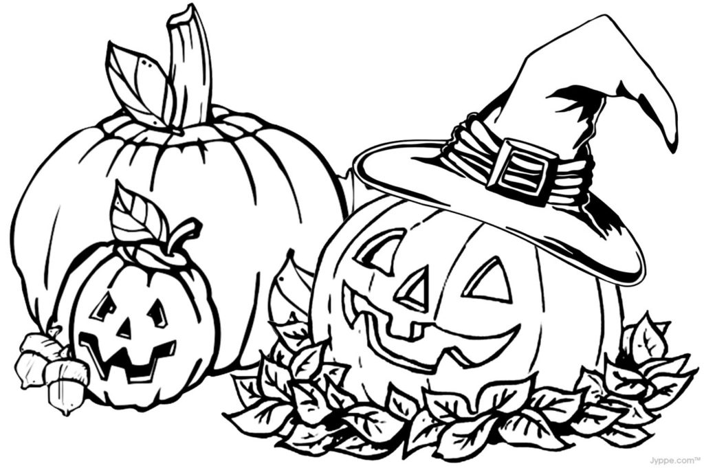 Halloween coloring book 2019
