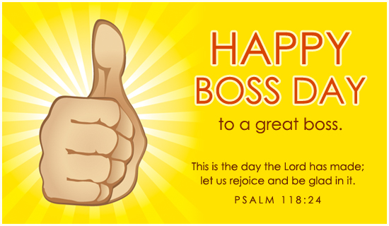 Happy Boss Day 2019 Image for FB