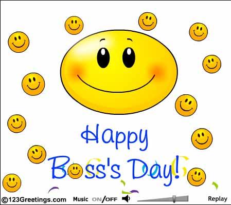 Happy Boss Day 2018 Image
