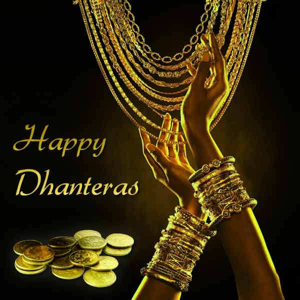Happy Dhanteras 2018 DP