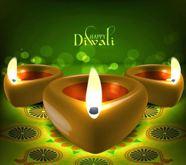 Happy Diwali 2021 Greeting Card for Girlfriend & Boyfriend