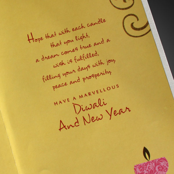 Happy Diwali 2018 Greeting Card for Lovers