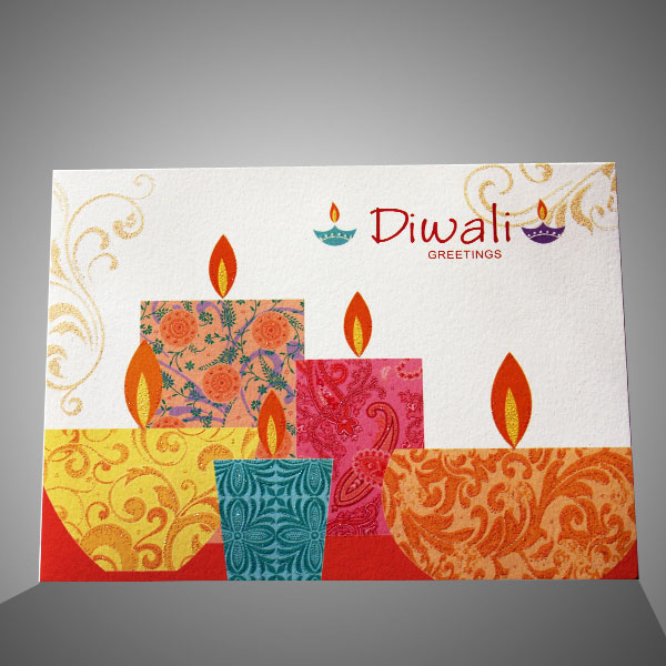 Happy Diwali 2018 Greeting Card