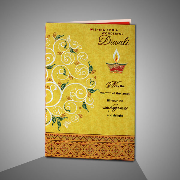 Happy Diwali 2018 Printable Gift Card