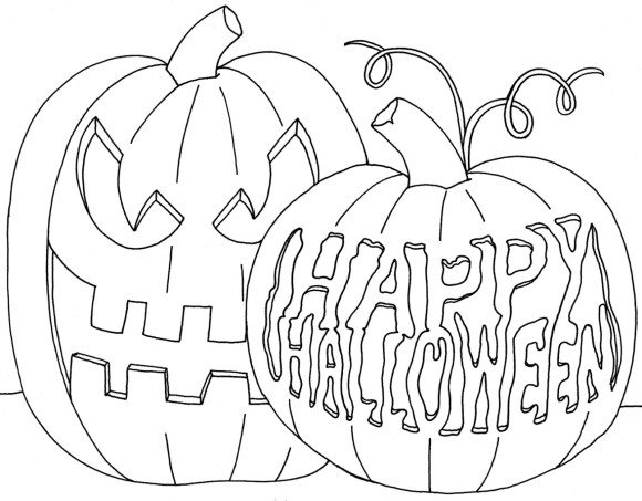 Halloween Coloring Pages 2019 Printable Halloween