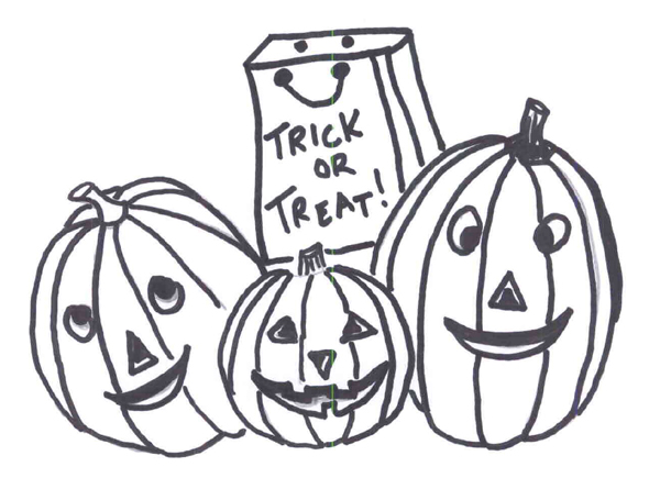 Halloween Coloring Pages 2019