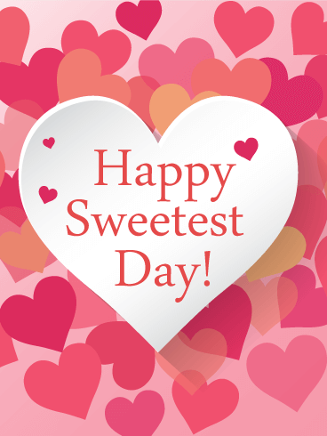 Sweetest Day 2018 Greeting Card