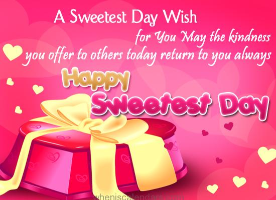 Sweetest Day 2018 Images