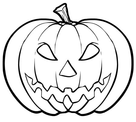 pumpkin coloring pages 2019