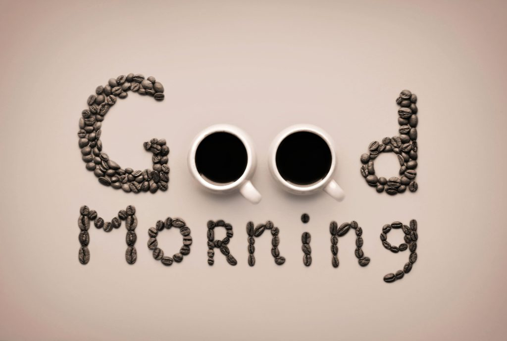 Good Morning HD Wallpaper