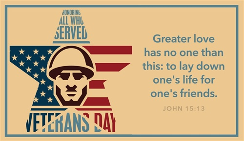 Veterans Day Thank You Ecards 2019