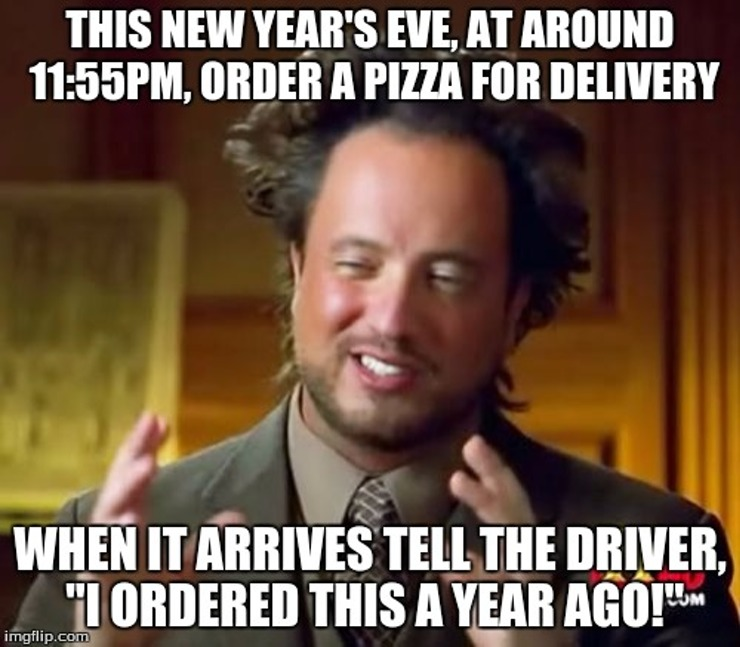 31st December Funny Meme