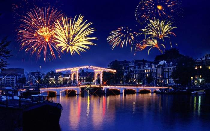 Celebrate Happy New Year 2019 in Holland