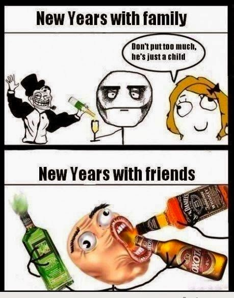 Happy New Year MEMES, Funny Jokes, 31st December Funny MEMES for ...