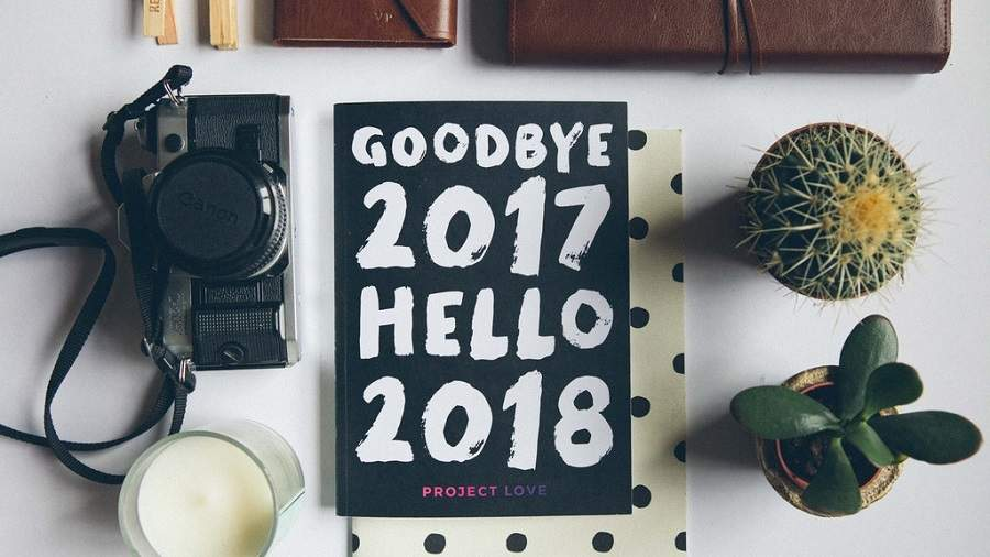 Goodbye 2018 Hello 2018 Image