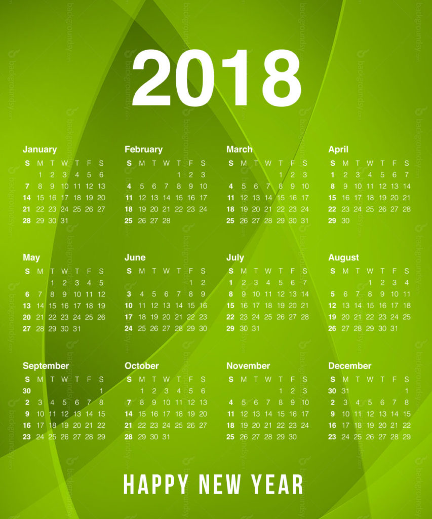 Year Calendar Download Free : New year calendar download printable