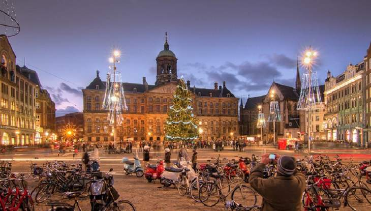 Happy New Year 2018 in Holland, Netherlands & Dutch