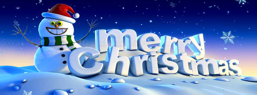 Merry Xmas / Christmas Facebook Cover Photos, Banners & Timeline Pictures 2017
