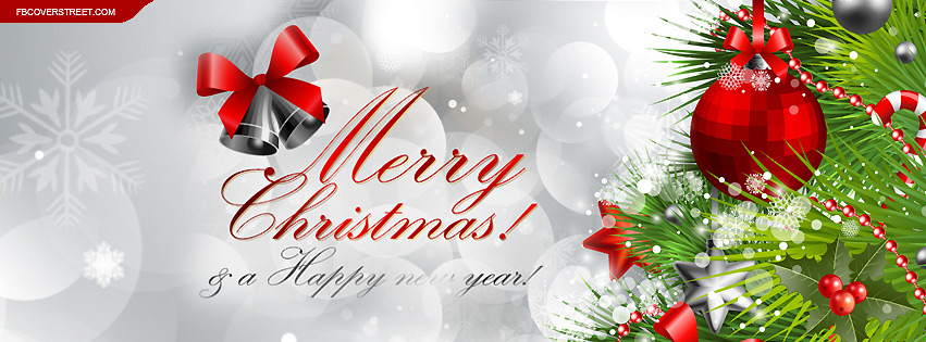 Merry Christmas 2017 FB Cover Photos